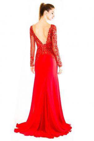 Vestido Princese Vermelho
