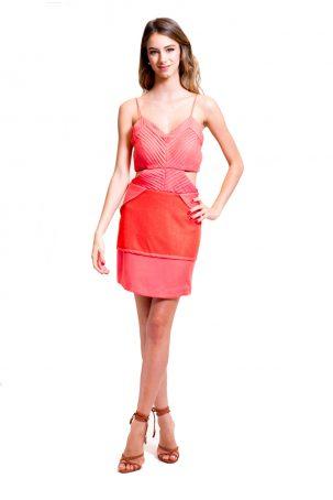 Vestido Coral Leon
