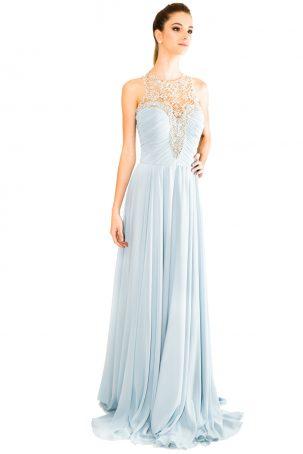 Vestido Camila Azul