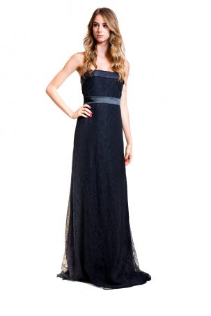 Vestido Renda Negra
