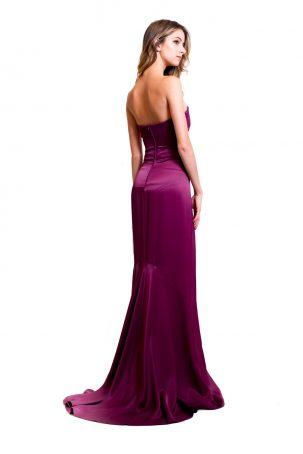 Vestido Ameixa