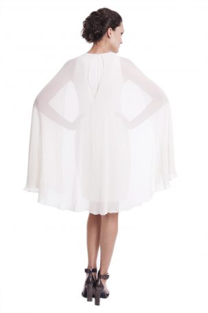 Vestido Fly Off White