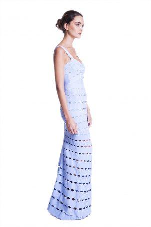 Vestido Nath Azul