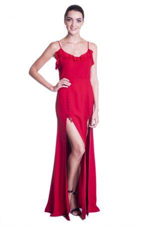 Vestido Lolla Vermelho