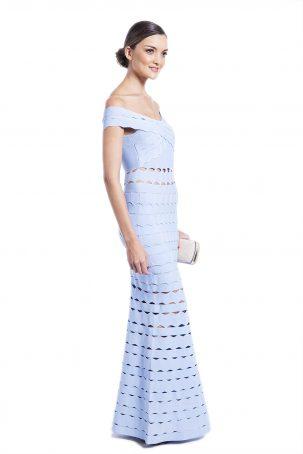 Vestido Drummond Azul