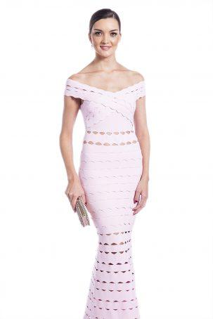 Vestido Drummond Rosa