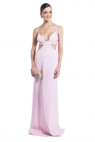 Vestido Aura Rosa