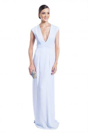 Vestido Isolda Azul