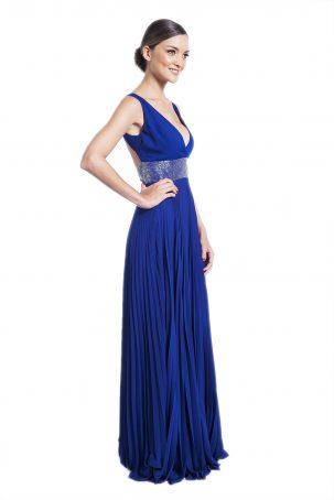 Vestido Madonna Azul