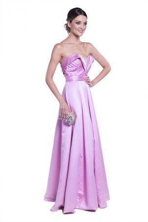 Vestido Livia Rosa