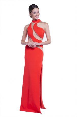 Vestido Bianca Laranja