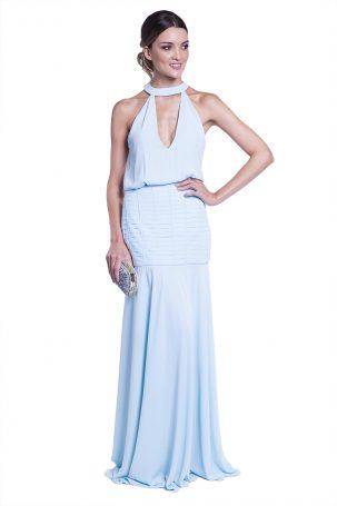 Vestido Beatriz Azul