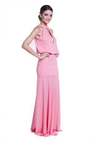 Vestido Anabela Coral