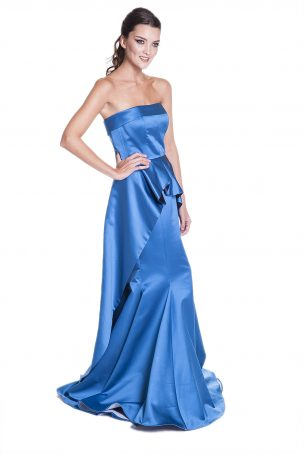 Vestido Felipa Azul