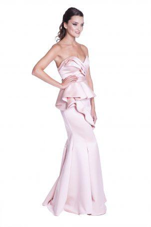 Vestido Tici Champagne