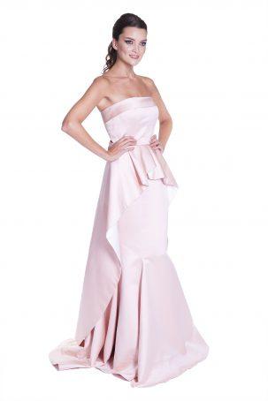 Vestido Felipa Rosa