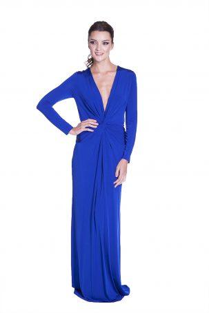 Vestido Tip Azul Royal
