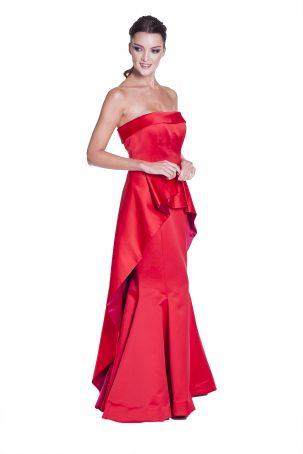 Vestido Felipa Vermelho