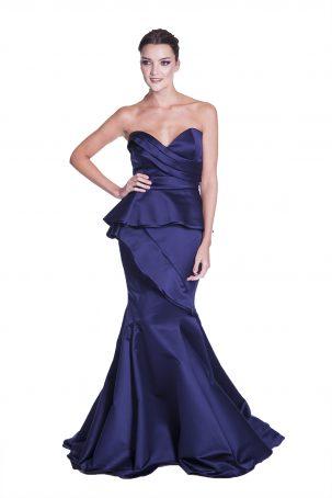 Vestido Tici Azul Marinho