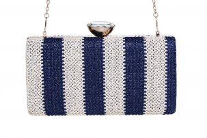 Clutch Carlota Azul