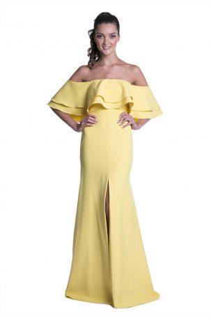 Vestido Mara Amarelo