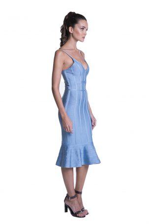 Vestido Mauren Azul