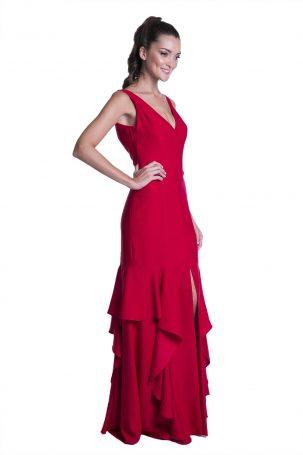 Vestido Siebert Vermelho