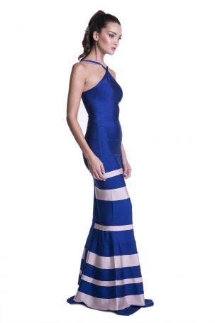 Vestido Lupa Azul