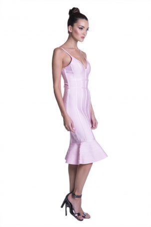 Vestido Mauren Rosa