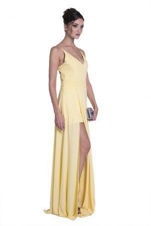 Vestido Beniti Amarelo