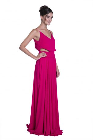 Vestido Lala Cereja