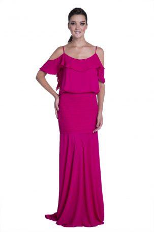 Vestido Malva Cereja