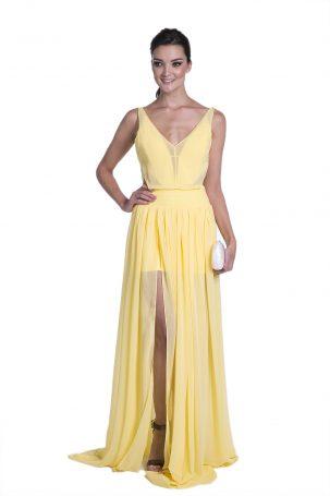Vestido Tatini Amarelo