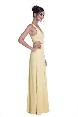 Vestido Donatta Amarelo