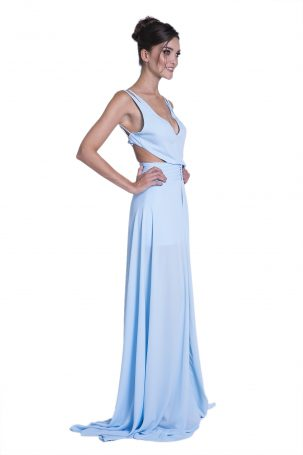 Vestido Paula Azul