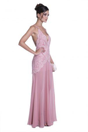 Vestido Lenita Rosa