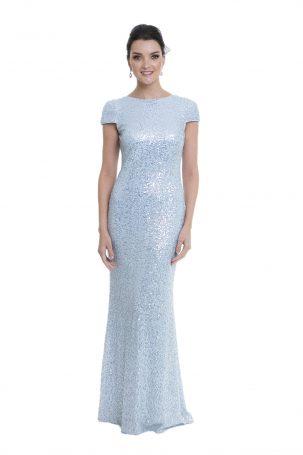 Vestido Leila Azul