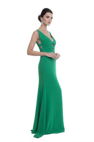 Vestido Poka Verde