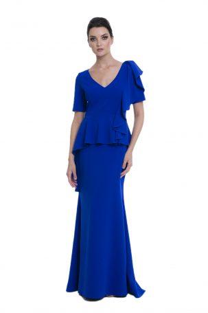 Vestido Zegna Azul