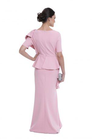 Vestido Zegna Rosa