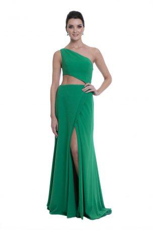 Vestido Elisa Verde