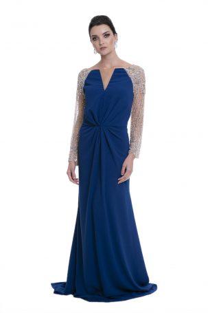 Vestido Brito Azul