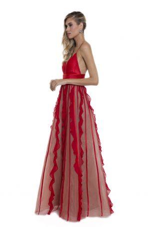 Vestido Chiara Vermelho