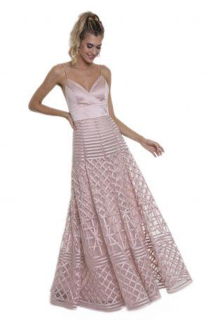Vestido Charlotte Rosa