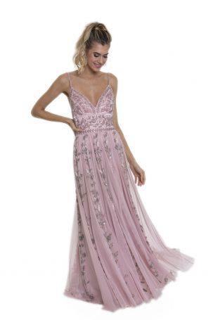 Vestido Flora Rosa