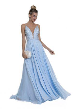 Vestido Mariana Azul