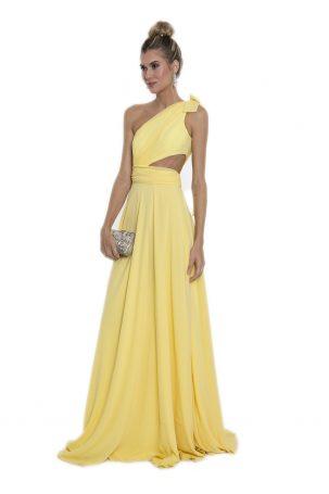Vestido Alyssa Amarelo