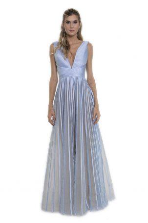 Vestido Liz Azul