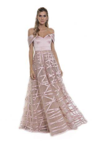 Vestido Tharsilla Rose