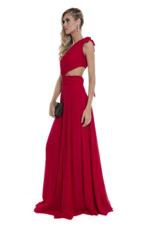 Vestido Alyssa Vermelho